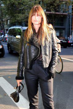 Laissez-Faire Hair at Its Finest: Caroline de Maigret, Lou Doillon, and More at Paris Fashion Week – Vogue - Caroline de Maigret