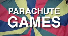 Parachute Games help develop cooperation, social interaction, and Gross Motor Skills. They are fun for kids, teens and adults. Use them at parties, Family Reunions, Playgrounds, Gym, or backyard!