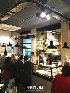 Banco&Pizza - Pizza al taglio e cucina da banco. via delle provincie n° 20 - Roma www.rpmproget.it