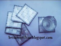 Reciclaje de tetrabrick  Si desean pasarse por el blog http://www.brisareutiliza.blogspot.com.es/