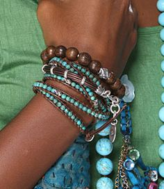 Wrap bracelets great summer look