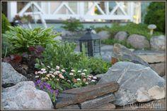 Porch Garden, Outdoor Spaces, Outdoor Decor, Garden Living, Garden Planning, Country Living, Stepping Stones, Outdoor Gardens, Garden Design