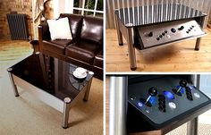 Coffee table that's also an arcade game...awesome!