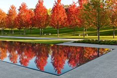 Lakewood Cemetery Garden Mausoleum Landscape by Halvorson Design Partnership « Landscape Architecture Platform Landscape Architecture Design, Landscape Architects, Contemporary Landscape, Landscaping Plants, Water Features, Garden Inspiration, Landscape Photography, Garden Design, Landscape Architecture