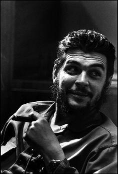 Che Guevara, by Elliott Erwitt 1964