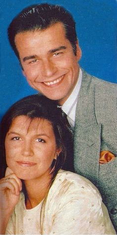 Ian Buchanan and Finola Hughes Duke Lavery and Anna Devane Duke and Anna #FINIAN #Supercouple #super couple