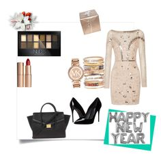 """New Years Revolution"" by dasiaxo on Polyvore featuring Temperley London, Dolce&Gabbana, Forever 21, Ashley Pittman, Michael Kors, Maybelline and Charlotte Tilbury"