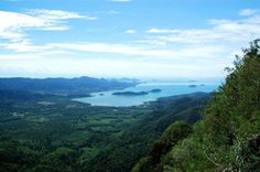 The Salakphet islands lying in the bay - as viewed from Koh Chang