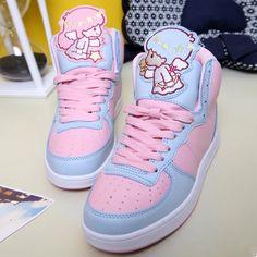 Harajuku fashion kawaii cartoon sneakers