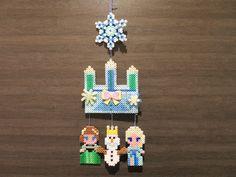 Frozen mobile perler beads