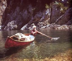 Canadian naturalist Bill Mason was considered the patron saint of canoeing ~ Photo by...Old Chum©