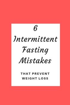 Are you trying to lose weight with intermittent fasting but nothing is happening? Check out these 6 common mistakes that prevent weight loss. Weight Loss Meals, Weight Loss Blogs, Weight Loss Detox, Weight Loss Drinks, Healthy Weight Loss, Natural Detox Drinks, Low Carb Diet Plan, Fat Burning Detox Drinks, Trying To Lose Weight