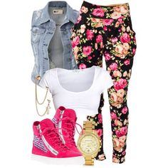 Untitled #853, created by power-beauty on Polyvore.....very cute!