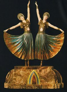 chiparus-pair-of-art-deco-dance-figures