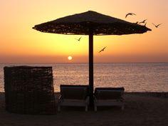 The  beach Hurgada, Egypt.