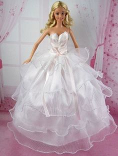 Fashion Princess Party Dress Wedding Clothes