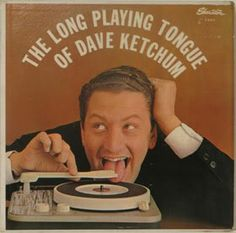 The long playing tongue of Dave Ketchum repinned by AmericanTreasureTour.com