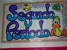 List of attractive segundo periodo marcado ideas and photos Border Design, Smash Book, Anchor Charts, Smurfs, Diy And Crafts, Notebook, Baby Shower, Letters, Bullet Journal