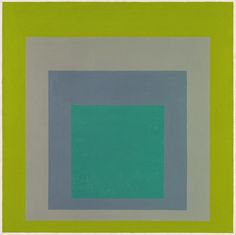 nothinged:  Study for Homage to the Square Josef Albers 1964