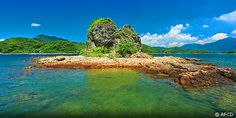 #HK's Yan Chau Tong Marine Park is noted for its variety of landforms
