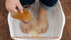 Soak Your Feet in Vinegar Once a Week, And You Will See How All Your Diseases Disappear -