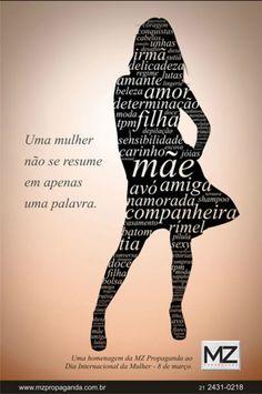 Cartaz Dia Internacional da Mulher - MZ Propaganda