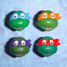 CUFFLINKS Teenage Mutant Ninja Turtles  by TheClayCollection, $38.00