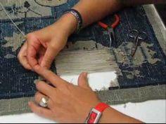 ▶ Restauro lavaggio tappeti arazzi tessuti antichi.wmv - YouTube