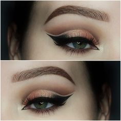 peach double cut crease Makeup Tutorial - Makeup Geek