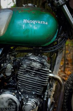 RFVC special scrambler Husqvarna Honda XL xl600 hippie Rat DIY Hare&Hound vintage leather frame modification design rug brat cafèracer  mcqueen harley leather handmade recylce reuse