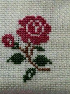 Thrilling Designing Your Own Cross Stitch Embroidery Patterns Ideas. Exhilarating Designing Your Own Cross Stitch Embroidery Patterns Ideas. Mini Cross Stitch, Cross Stitch Heart, Cross Stitch Cards, Simple Cross Stitch, Cross Stitch Flowers, Cross Stitching, Cross Stitch Embroidery, Embroidery Patterns, Hand Embroidery