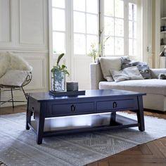 Black mahogany coffee tables - Thaki black coffee tables 100x60