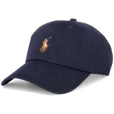 Polo Ralph Lauren Men's Classic Chino Sports Cap (525.115 IDR) ❤ liked on Polyvore featuring men's fashion, men's accessories, men's hats, navy, mens sport hats, mens caps, mens sports caps, polo ralph lauren mens hats and mens sports hats