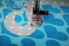 Applikation tutorial von lila lotta: Cala Pulpo DIY ...