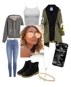 """""""cooooool style"""" by biankaradacovska ❤ liked on Polyvore featuring Paige Denim, Moschino, Burberry, Mr. Gugu & Miss Go, Quay, EF Collection and Kate Spade"""