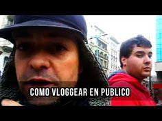 Como Vloggear en Publico   Como ser Youtuber   Frank Channel - YouTube