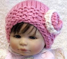 Knitting Pattern  FAYLYNN SLOUCHY  Newborn through by ezcareknits   7 sizes ranging from Newborn to Adults.