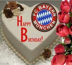 Happy Birthday, Birthday Cake, Desserts, Logos, Sports, Munich Germany, Fc Bayern Munich, Evening Pictures, Football Soccer