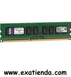 Ya disponible Ddr3 Kingston  8gb/1333 ecc                  (por sólo 90.95 € IVA incluído):   - Kingston ValueRAM DIMM 8 GB ECC DDR3-1333 MHz   - P/N:KVR1333D3E9S/8G Garantía de 24 meses.  http://www.exabyteinformatica.com/tienda/246-ddr3-kingston-8gb1333-ecc #memoria #exabyteinformatica