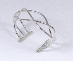 The Twisted Bracelet by silversmith Kaminer Haislip. $190 at slowlivingshop.com