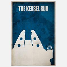 The Kessel Run - #starwars #fanart