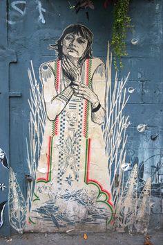 Street Art Par Swoon - New York City (NY) - Street-art et Graffiti   FatCap