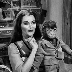See more HERE: https://www.sunfrog.com/search/?53507&search=love+dog   Lily and Woof-Woof; The Munsters