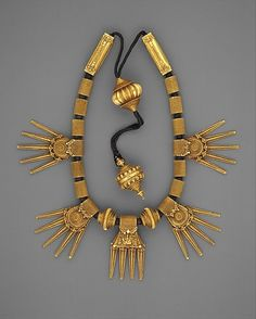 Marriage Necklace (Thali) late 19th century India