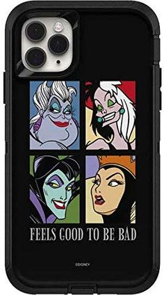 Skinit Decal Skin For Otterbox Defender Iphone 11 Pro Max Case Officially Licensed Feels Good To Be Bad Design In 2020 Otterbox Defender Iphone Cases Disney Iphone