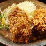 三友 - 食事コース(2160円)のカキフライ