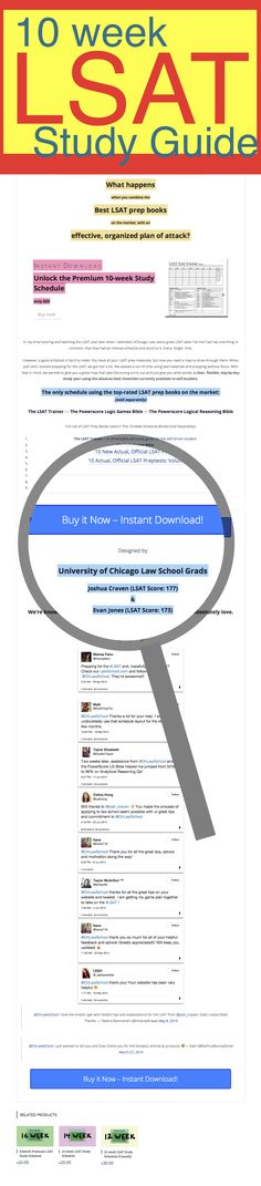 261 best lsat images on pinterest law school lsat prep and colleges 10 week lsat study guide malvernweather Choice Image