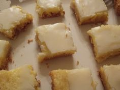 Oh, people. This is yet another variation of Chess Pie Squares (aka Ooey Gooey Buttercake). I've made toffee butter bars . P...