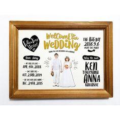 もう2月ですね、先月は沢山のご注文有難うございました * * こちらは、ラブストーリー入りのウェルカムボード 新郎新婦のお写真もお入れします。 全身が写っているお写真がオススメ * * こちらはショップにて販売中です。 * * #ウェルカムボード #招待状#席札#席次表#ウェディング#wedding#ラブストーリー#プレ花嫁#結婚式#結婚準備#ガーデンウェディング#ペーパーアイテム#ウェルカムスペース#ウェディングアイテム