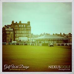 St Andrews Golf Club, practice putting green St Andrews Golf Club, Practice Putting Green, Golf Clubs, Saints, Building, Travel, Santos, Viajes, Buildings